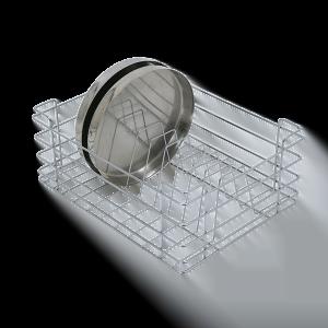 Thali Basket (8″ Height X 19″ Width X 20″ Depth) Stainless Steel